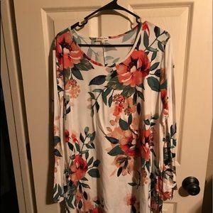 Plus Size L/S Dress